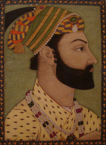Portrait _miniature _of _Ahmad _Shah _Durrani